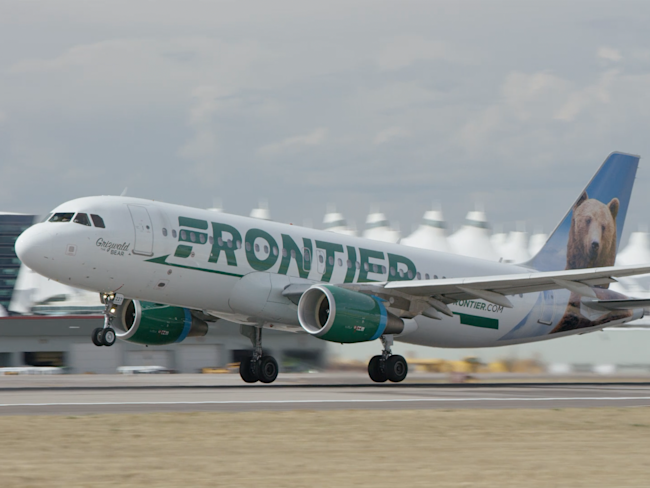 Frontier Airlines Airbus