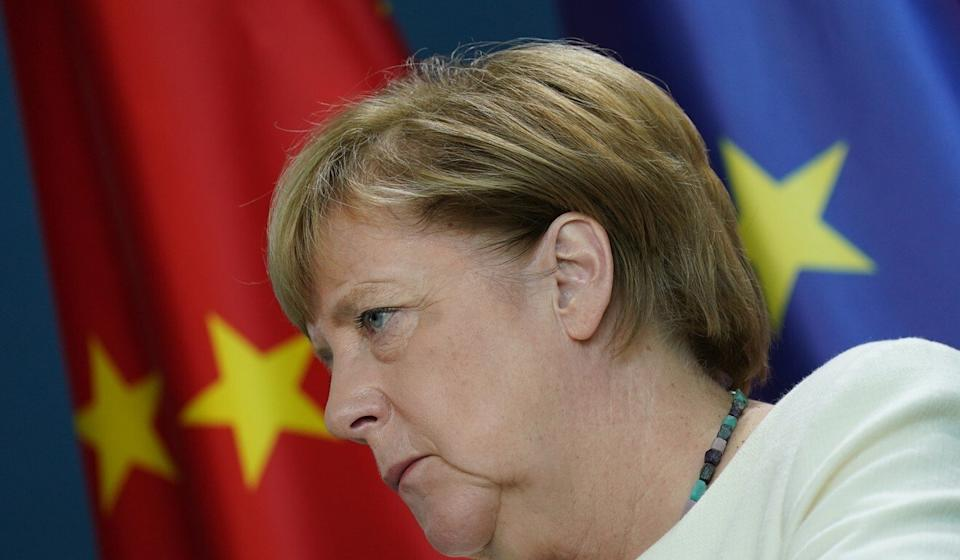 Angela Merkel has been one of the main drivers of the EU's approach to China. Photo: Getty Images