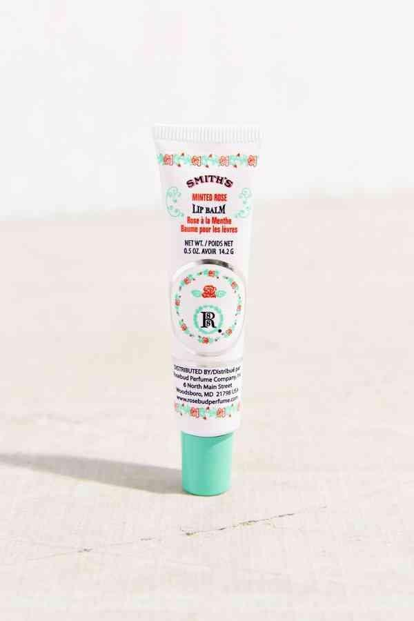 <p>This <span>Smith's Minted Rose Lip Balm Tube</span> ($8) has a slight pink tint.</p>
