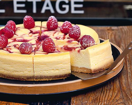 Try this gluten-free cheesecake with raspberry jam. It's sure to wow even the fussiest of guests.