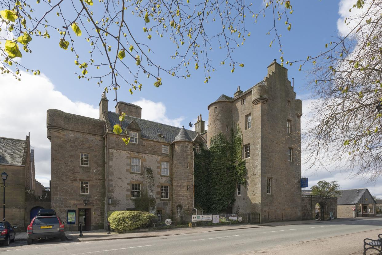 Why buy a castle when you could buy...a castle hotel? (Image: Strutt and Parker)