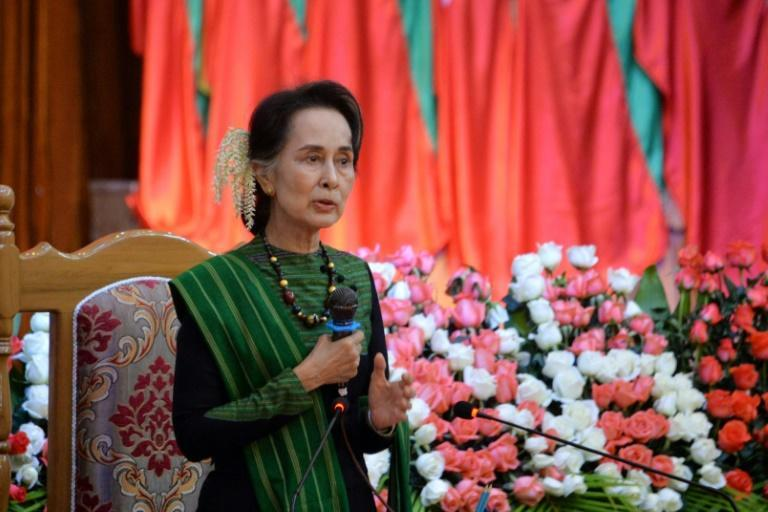 Ousted civilian leader Aung San Suu Kyi has meanwhile been hit with a new criminal charge, accused of breaking an official secrets law