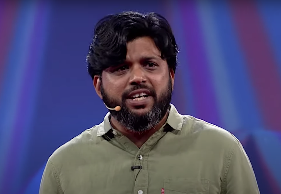 Pulitzer Prize-winning journalist Danish Siddiqui was killed in clashes in Spin Boldak district of Kandahar city in Afghanistan on Friday. Screengrab. ( YouTube/TEDx Talks)