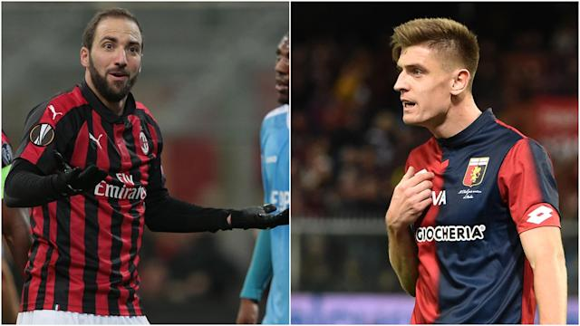 Poland striker Krzysztof Piatek has scored 13 times in 19 Serie A games for Genoa this term and is set to replace Gonzalo Higuain at Milan.