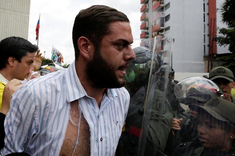 Juan Requesens Venezuela opposition protest government Maduro