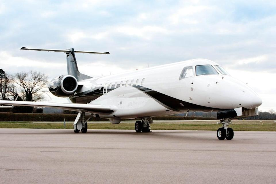 Private jets are now proving popular for holiday travel (Colibri Aircraft/PA) (PA Media)