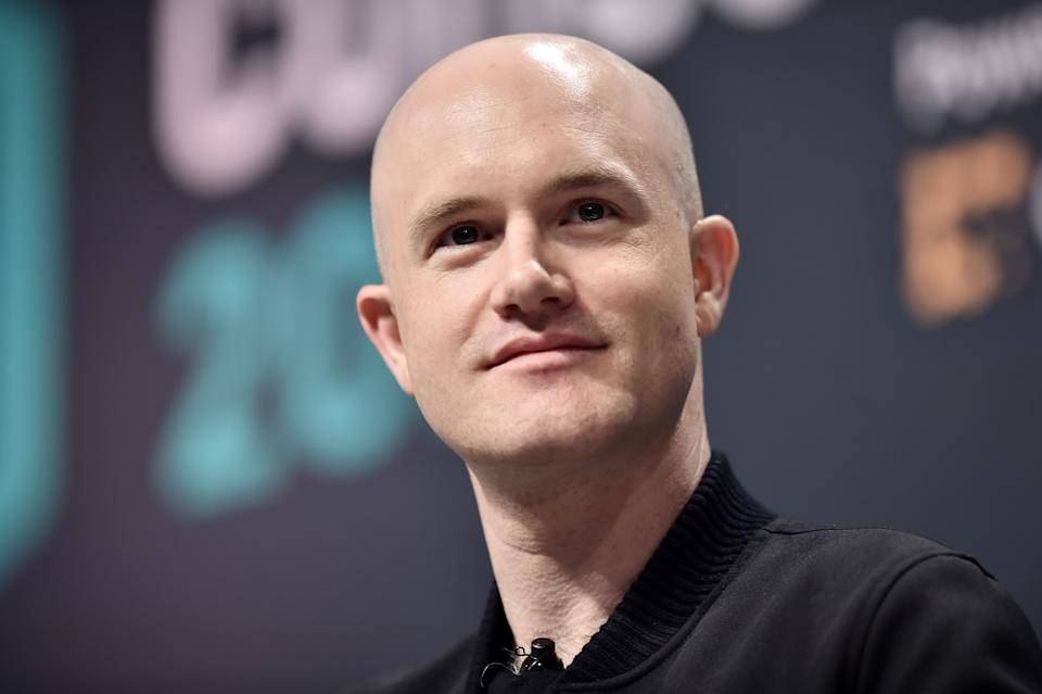NEW YORK, NY - MAY 15:  Coinbase Founder and CEO Brian Armstrong attends Consensus 2019 at the Hilton Midtown on May 15, 2019 in New York City.  (Photo by Steven Ferdman/Getty Images)