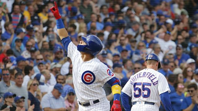 The Chicago Cubs thrashed the Pittsburgh Pirates as their playoff push continued in MLB.