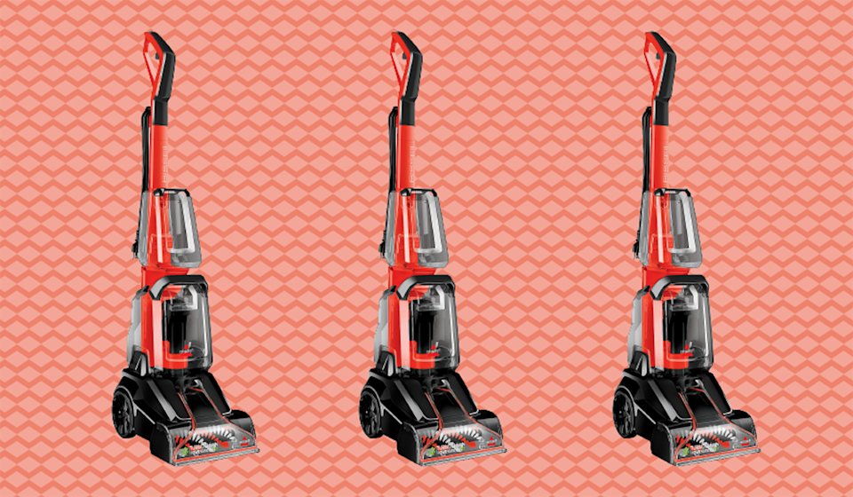 Deep dirt, look out: The Bissell Turboclean Powerbrush Carpet and Rug Deep Cleaner doesn't mess around. (Photo: QVC)