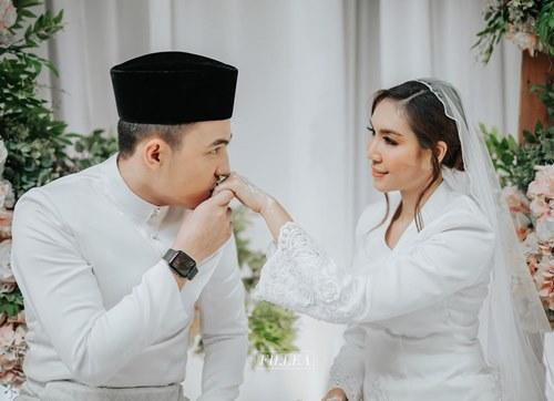 Harris and Intan were married earlier this year