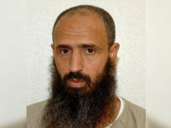 Latif in an image released by the US military