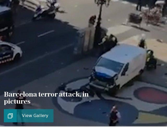 Barcelona terror attack, in pictures