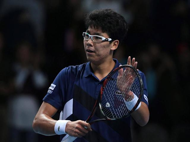 Hyeon Chung in action (Getty)