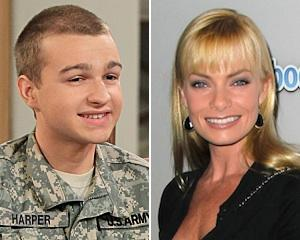 Angus T. Jones Returns to Two and a Half Men — and 'Cougar' Love Interest Jaime Pressly