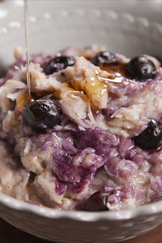"""<p>Breakfast of champions.</p><p>Get the recipe from <a href=""""https://www.delish.com/cooking/recipe-ideas/recipes/a50916/blueberry-slow-cooker-oatmeal-recipe/"""" rel=""""nofollow noopener"""" target=""""_blank"""" data-ylk=""""slk:Delish"""" class=""""link rapid-noclick-resp"""">Delish</a>.</p>"""