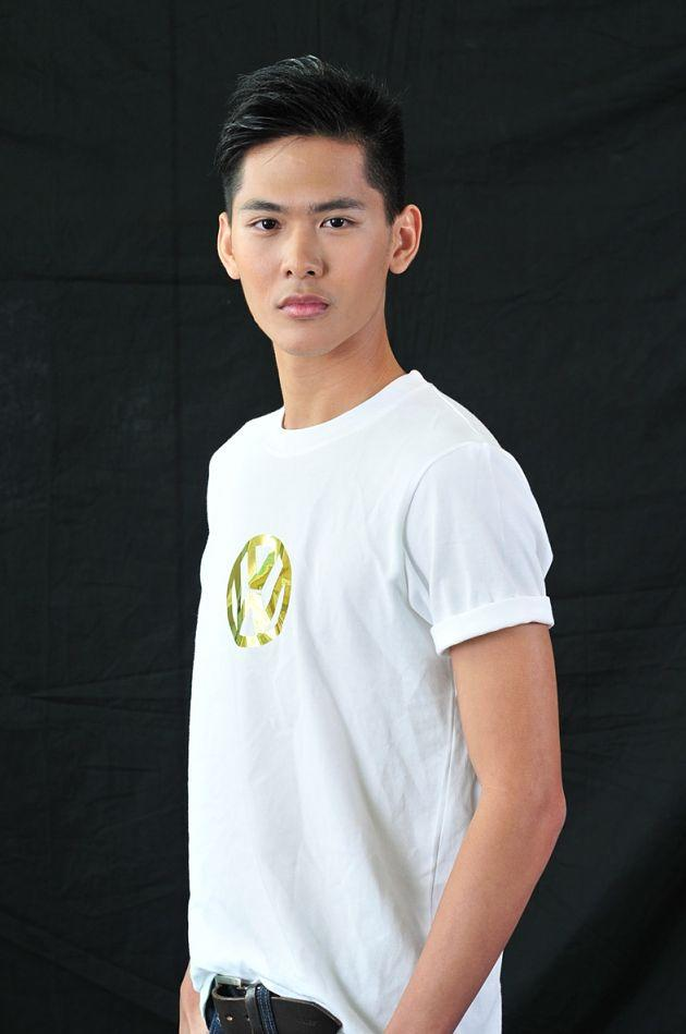 20-year old David Hong stands at 1.83m tall. (Photo courtesy of Elite Model Look Singapore)