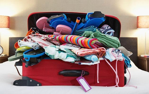 The weird things people pack. Photo: Getty