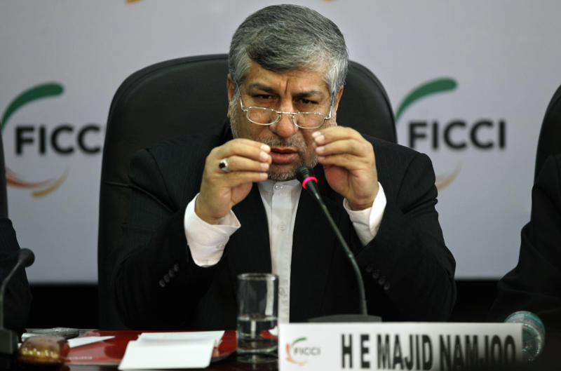Iranian minister woos Indian businesses