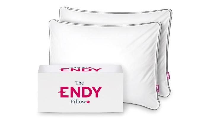Endy Pillow, ranges from $80 to $95