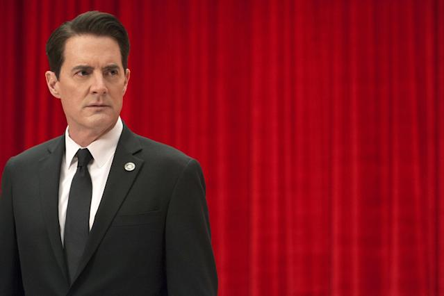 Kyle MacLachlan on <em>Twin Peaks: The Return.</em> (Photo: Showtime)