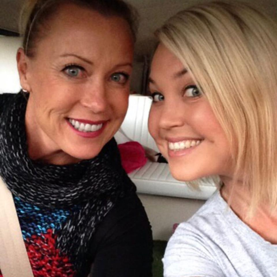 Lisa Curry with daughter Jaimi Kenny