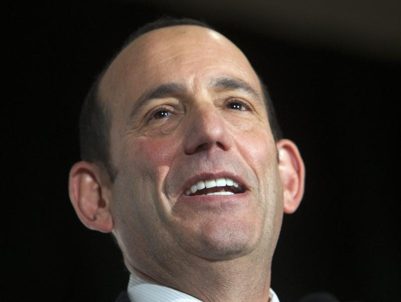 MLS Commissioner being treated for prostate cancer