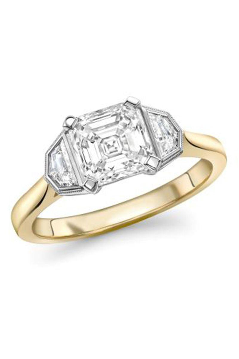 "<p><em><strong>Emma Clarkson Webb</strong> Diamond Bespoke Engagement Ring in 18k Yellow Gold, from $5,195, <a href=""http://www.emmacwebb.com/"" rel=""nofollow noopener"" target=""_blank"" data-ylk=""slk:emmacwebb.com"" class=""link rapid-noclick-resp"">emmacwebb.com</a>.</em></p><p><a class=""link rapid-noclick-resp"" href=""http://www.emmacwebb.com/"" rel=""nofollow noopener"" target=""_blank"" data-ylk=""slk:SHOP"">SHOP</a></p>"
