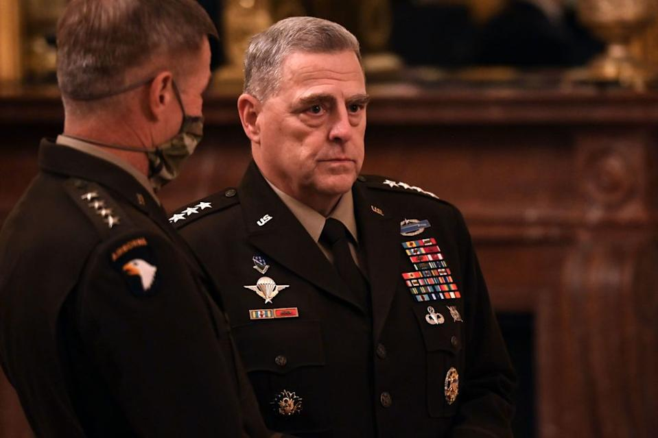 Mark Milley, Chairman of the Joint Chiefs of Staff General