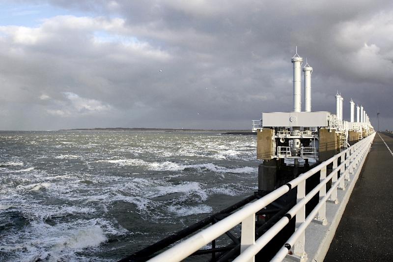 Sea and water levels are carefully watched in the Netherlands, as much of the country lies below sea-level and is protected by a series of flood defences