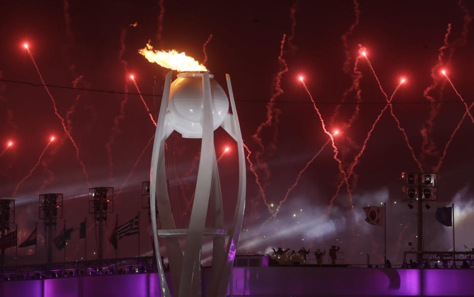 The Opening Ceremony of the 2018 Winter Olympics in PyeongChang, South Korea.