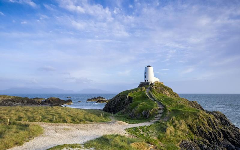Llanddwyn is a narrow, rocky spit of land that becomes an island at high tide - Rick Bowden