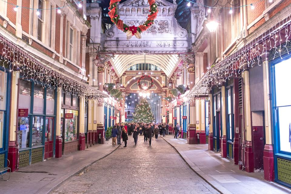 Leadenhall Market in the City dates back to the 14th century (City of London)