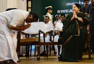 <p>When the Chief Minister J Jayalalithaa was barred from holding office in 2001, he was sworn in as the 13th Chief Minister of Tamil Nadu. His tenure lasted only for 6 months as he was accused of running a puppet govt managed by Jayalalithaa. </p>