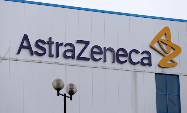 AstraZeneca shares fell on reports of merger talks with US rival Gilead. (Lynne Cameron/PA via Getty)