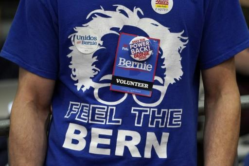 More than 1,200 Sanders supporters erupted in cheers at a Primary Night event at the SNHU Field House in Manchester, New Hampshire