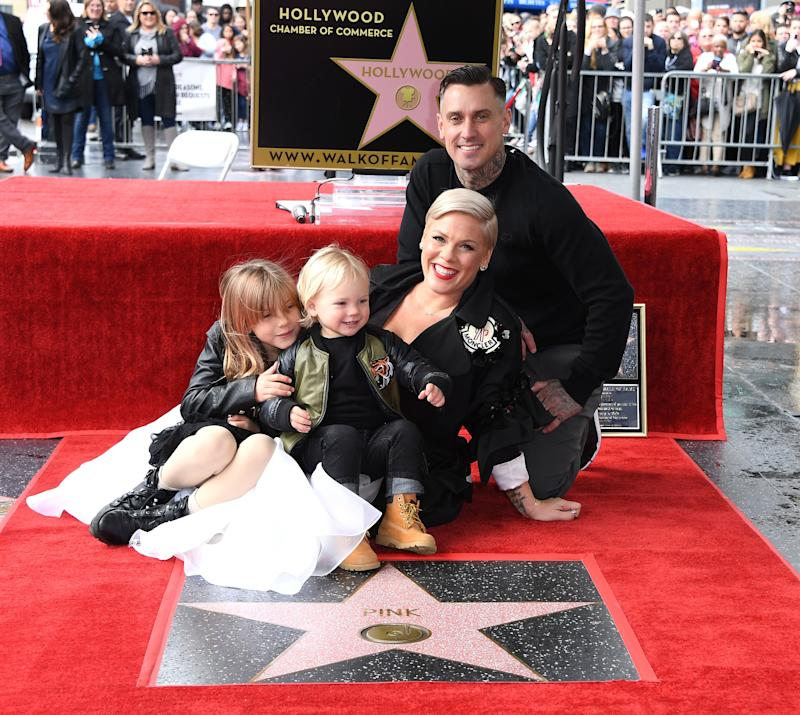 Pink Says She Stopped Posting Photos of Her Kids on Social Media Because of Mommy Shaming
