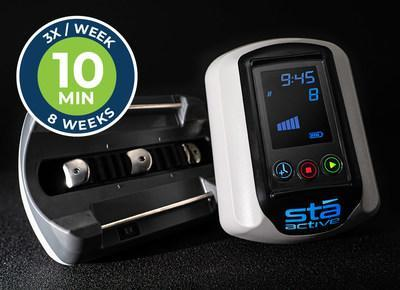 Stā Active brings the physical therapy techniques that work, home with simple automated therapy.  Just put it on, hit play and let it pull out the pain. Just like the pros do. No appointments, no pills, no needles, just results that work for 96% of our customers. They tell us it hurts so good. Then in 8 weeks, the hurt is gone. We've got a patent, but our testimonials are the real proof.