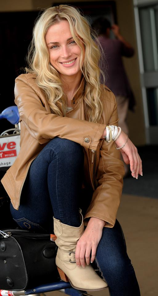 <p>Reeva Steenkamp in Johannesburg, South Africa. (Photo by Mike Holmes/The Herald/Gallo Images/Getty Images)</p>
