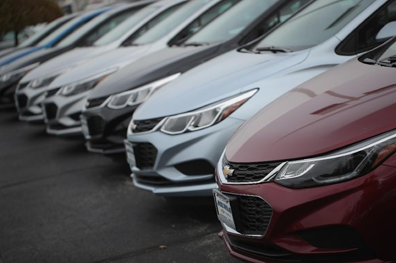 Last year in the United States General Motors sold 150,000 Chevy Cruze cars, shown here, all produced at Lordstown, Ohio