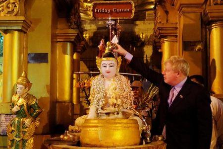 Boris Johnson Reportedly Caught On Camera Reciting Colonial Poem In Burmese Temple