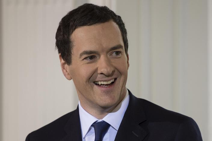 George Osborne spent three years as the editor in chief of the Evening Standard. Photo: Niklas Halle'n/AFP via Getty