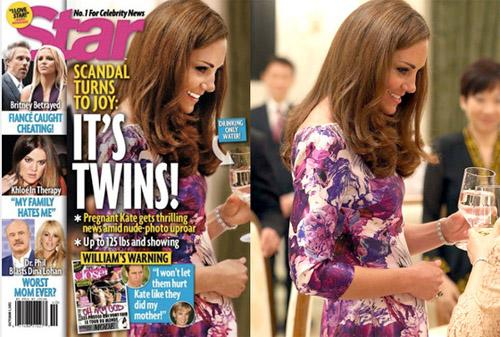 Kate Middleton, embarazada por el Photoshop