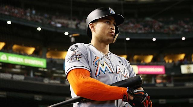 "<p>Just as the Giancarlo Stanton trade situation appears to be coming to a head, a wrench may be thrown into its complicated works. The Marlins' attempt to deal the NL MVP has been a slow and fitful process, but over the last two weeks, two teams have emerged as finalists: the Giants and Cardinals. Both San Francisco and St. Louis have gotten far enough along in talks <a href=""http://bleacherreport.com/articles/2747308-giancarlo-stanton-reportedly-attended-giants-cardinals-trade-meetings"" rel=""nofollow noopener"" target=""_blank"" data-ylk=""slk:to meet with Stanton face to face"" class=""link rapid-noclick-resp"">to meet with Stanton face to face</a>, and both teams <a href=""http://m.mlb.com/news/article/262789910/giancarlo-stanton-pondering-his-future-home/"" rel=""nofollow noopener"" target=""_blank"" data-ylk=""slk:have terms worked out with Miami"" class=""link rapid-noclick-resp"">have terms worked out with Miami</a> with regards to compensation. But according to NBC Sports Bay Area reporter Alex Pavlovic, while the Giants expect a resolution by the end of the week, a familiar foe could jump into the running at the last minute.</p><p>It's fitting that the Dodgers might be the stumbling block for the Giants, but just how likely a destination is southern California for Stanton? It's unwise to write the Dodgers out of any competition where money is involved, but reality isn't as straightforward.</p><p>Since a Stanton trade first floated into consciousness at the start of the offseason, the Dodgers have been a popular destination, yet the team has been more on the periphery of talks for him than front and center. On Tuesday night, <a href=""https://twitter.com/jonmorosi/status/938258415612256256"" rel=""nofollow noopener"" target=""_blank"" data-ylk=""slk:MLB Network's Jon Morosi tweeted"" class=""link rapid-noclick-resp"">MLB Network's Jon Morosi tweeted</a> that Los Angeles and Miami had stayed in touch with regards to a Stanton deal, but that ""discussions … are not serious"" (albeit with an ominous ""for now"" added at the end of that tweet). Beyond that, though, there's been no link between the Dodgers and Stanton—no leaked discussions, no rumored prospect packages, and no Los Angeles-colored invocations of a #mysteryteam still in the running.</p><p>Instead, what's got Dodgers fans dreaming of Stanton in blue and white is where he's from. The 28-year-old outfielder was born in Panorama, Calif., a northern suburb of Los Angeles, and went to high school in nearby Sherman Oaks. He grew up a Dodgers fan and lives in southern California during the offseason; when the Giants and Cardinals met with him to talk trade, they came to Los Angeles. And while Stanton hasn't publicly said that he wants to be a Dodger, <a href=""https://twitter.com/jonmorosi/status/935214135687737347"" rel=""nofollow noopener"" target=""_blank"" data-ylk=""slk:that's the industry-wide belief"" class=""link rapid-noclick-resp"">that's the industry-wide belief</a> (again, per Morosi). And beyond coming home, the Dodgers offer Stanton something he's never had: a stable, contending organization. To go from the Marlins' perpetual rebuild to a team fresh off 103 wins and a pennant is as sharp and desirable a 180-degree turn as possible.</p><p>It helps that, while it's the Marlins who want to move him, Stanton holds all the cards thanks to his no-trade clause. The big slugger gets final say on where he goes, and if it's Los Angeles he wants, then he can simply reject all deals otherwise. In fact, he doesn't even have to say no; <a href=""https://twitter.com/Buster_ESPN/status/938270699277504512"" rel=""nofollow noopener"" target=""_blank"" data-ylk=""slk:as ESPN's Buster Olney reported"" class=""link rapid-noclick-resp"">as ESPN's Buster Olney reported</a>, Stanton can simply ignore whatever proposal Miami sends his way—a ""pocket veto,"" as Olney puts it.</p><p>All of that would seem to put the Dodgers in the driver's seat if they want to make an offer, or at least make them the favorites. While Los Angeles is a team wary of sacrificing top prospects despite its loaded farm system, neither San Francisco nor St. Louis could top them in terms of a potential package, especially given the financial demands of Stanton's contract.</p><p>But the Dodgers have stayed on the sidelines, and the money will likely keep them there. There are still 10 years and $275 million left on Stanton's deal, unless he opts out of it after the 2020 season—unlikely, barring the greatest three-year run in MLB history. And that's not including the $25 million team option in 2028 or, more likely, the $10 million buyout after that year, Stanton's age-38 season. For as good as Stanton is now, the prospect of paying him at least $25 million every single season for the next decade—particularly for a player who will be in his 30s for the majority of it—has to be scary, even for the richest team in baseball.</p><p>That also doesn't take into account Los Angeles' already existing financials. For 2018 alone, the Dodgers already have $185.8 million on the books in guaranteed deals. Add in the projected $25 million they'll be spending in arbitration, and you're looking at a payroll of $214 million before the team does any offseason spending. There are ways the Dodgers can offload or offset some of Stanton's cost, but it won't be easy. They're already <a href=""http://m.mlb.com/news/article/262603388/dodgers-may-consider-trading-yasmani-grandal/"" rel=""nofollow noopener"" target=""_blank"" data-ylk=""slk:reportedly looking to deal"" class=""link rapid-noclick-resp"">reportedly looking to deal</a> former starting catcher Yasmani Grandal, who is looking at a 2018 salary of close to $8 million via arbitration. Los Angeles could also try to unload declining veteran Adrian Gonzalez ($22.36 million next year) or the oft-injured Scott Kazmir ($17.67 million). But barring some kind-hearted front office doing the Dodgers a favor, it's unlikely either of those two would depart without some other bad contract coming back in exchange.</p><p>Adding Stanton without a counter move would rocket the Dodgers' payroll to close to $250 million next year. For a team that pulled in nearly half a billion dollars in revenue in 2016, that figure isn't all that problematic on its own. But you also have to take into account Los Angeles' mortal enemy, the luxury tax. There's no way the Dodgers will get under 2018's threshold of $197 million, and with every dollar over that figure taxed and with repeat offenders—which the Dodgers are, having surpassed the limit in 2016 and '17—penalized extra, that disincentives large expenditures like Stanton.</p><p>Ultimately, though, what may stay the Dodgers' hand is what's coming next winter: the free-agent apocalypse that will be Bryce Harper, Manny Machado, Charlie Blackmon and a dozen other stars hitting the market all at once. And that group could include resident ace Clayton Kershaw, who is signed through 2020 but has an opt-out clause after next season. Kershaw would have no trouble beating the $69 million due to him after 2018 in free agency; at the very least, he should be able to squeeze another big multi-year deal out of the Dodgers. Stanton is a definite upgrade in leftfield over the combo of Kiké Hernandez and Joc Pederson, but considering they'll combine to make around $3–4 million next year, is it worth tacking on Stanton's contract and potentially hamstringing future offseasons or losing Kershaw to accomplish that?</p><p>So while the Giants may be looking over their shoulders in a panic, it's unlikely that the Dodgers are creeping up on them to snatch Stanton away. In the end, though, it may not be the Dodgers who scuttle San Francisco's (or St. Louis') hopes, but Stanton himself. His no-trade clause gives him all the power, and while leaving Miami's endless dysfunction is probably plenty appealing by now, there's no reason for him to accept a trade to anything but his preferred team just to spare Derek Jeter's checkbook. The prospect of another year with a franchise that actively doesn't want him can't be fun, but he could always hold out and hope for better next year. In which case, maybe we'll be going over this same series of issues and breaking down the Dodgers' chances yet again next December.</p>"