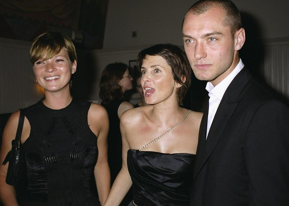 Kate Moss, Sadie Frost, Jude Law