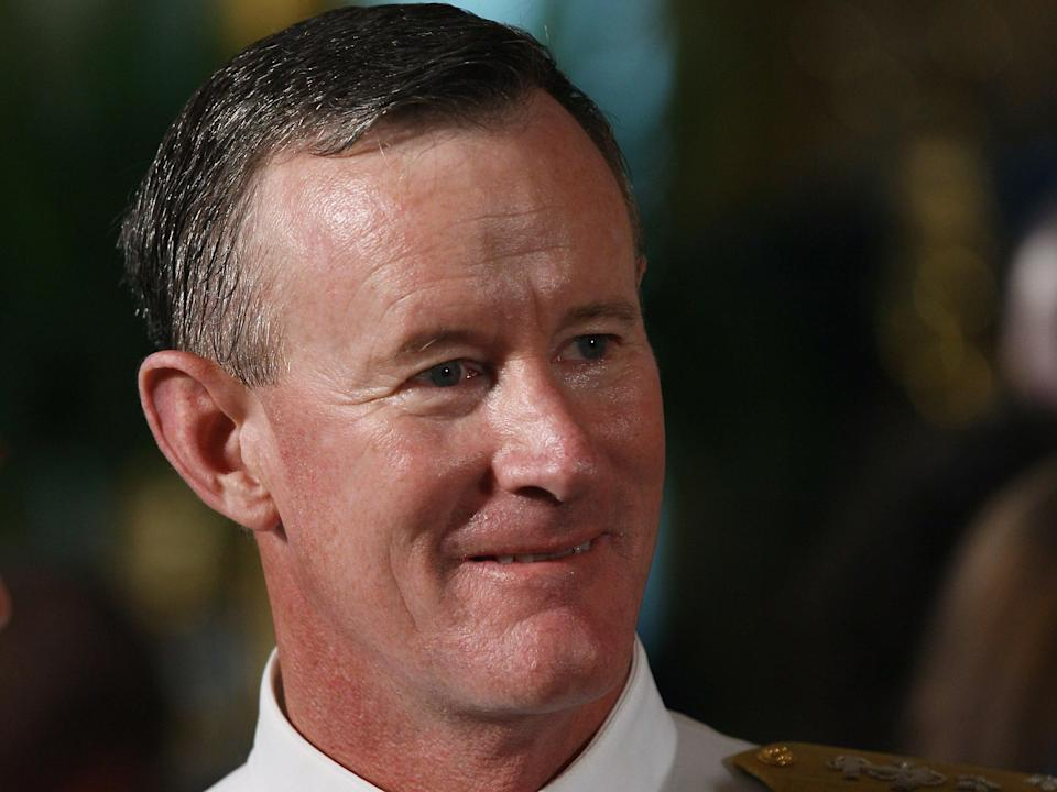 Retired 4-star Admiral William McRaven endorsed Democratic presidential candidate Joe Biden in the 2020 US election. (Getty Images)