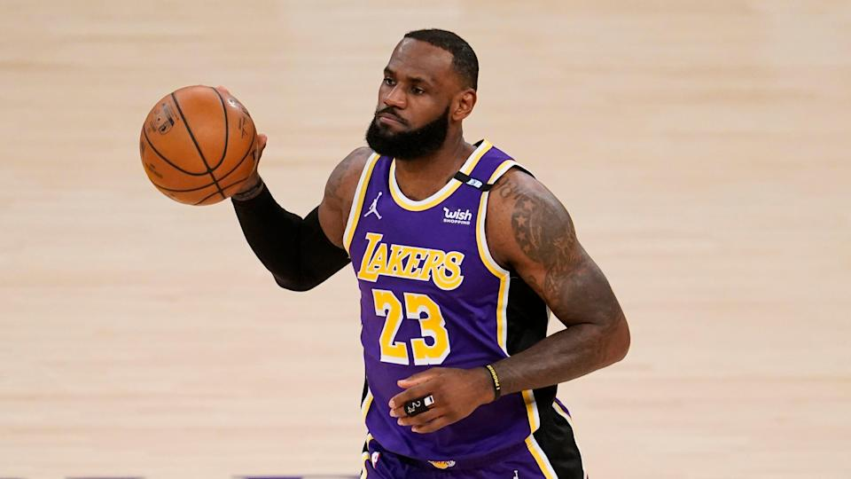 LeBron James has missed a combined 21 games this season because a high right ankle sprain. Partly because of his absences, the Lakers could fall to the No. 7 seed in the West and be forced to get into the postseason through the play-in games.