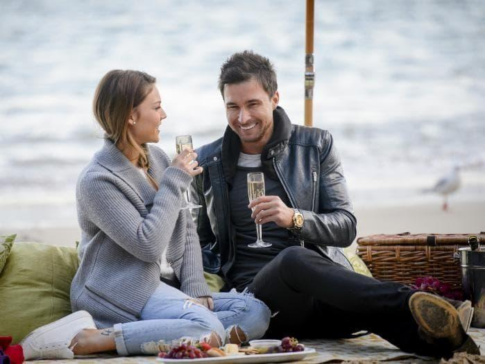 Back in 2015, Michael had his heart broken by Sam Frost on The Bachelorette. Source: Ten