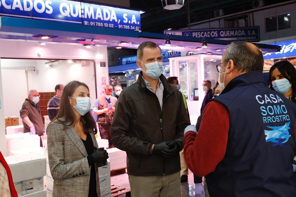 King Felipe and Queen Letizia are back on public engagements in Spain. (Spanish royal house)