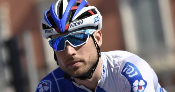 Cyclisme - FDJ - Davide Cimolai (FDJ) sort indemne d'un accident de la route