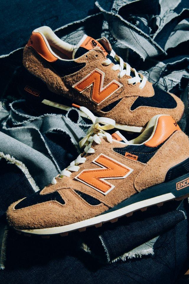 Levi's and New Balance team up for spring-summer sneakers